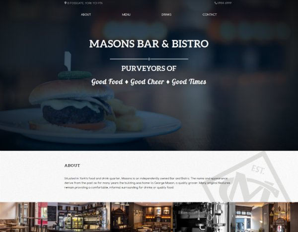 Masons Bar & Bistro