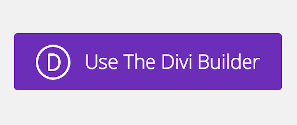 Use the Divi Builder button