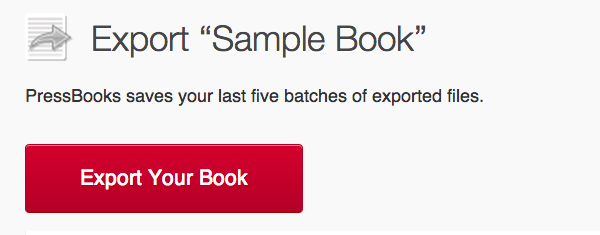 WordPress eBooks Pressbooks