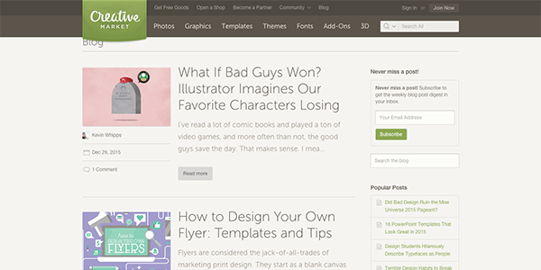 55 web design blogs to follow in 2016 elegant themes blog - How To Design Blogs