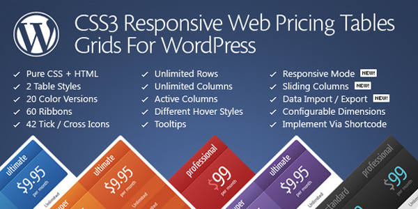 The official header for CSS3 Responsive Web Pricing Tables Grids.