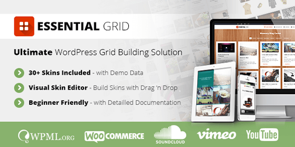 Essential Grid Header