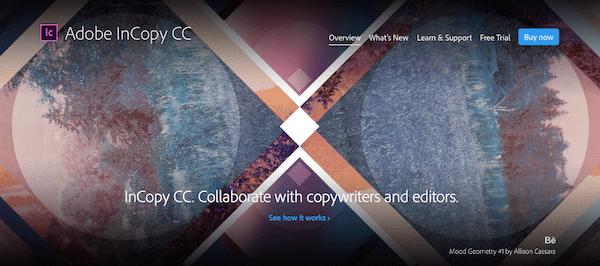 Adobe CC Incopy