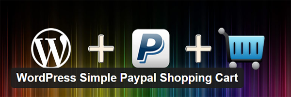 The WordPress Simple Paypal Shopping Cart official header.