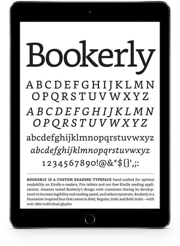 New Typeface for Kindle