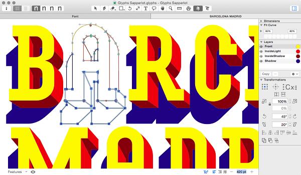 Prototype typefaces