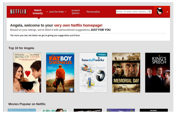 Netflix anticipatory design