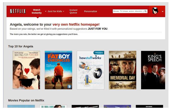 Netflix anticipatory design