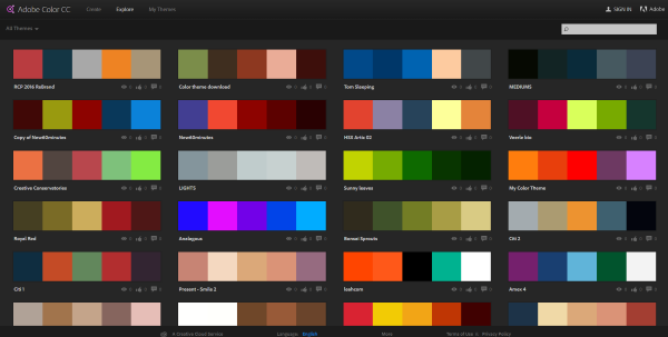 6 color matching techniques for wordpress web designers Color combinations numbers