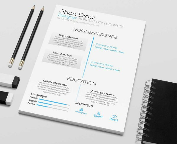 Free Resume Design Templates For Web Designers  Elegant Themes Blog