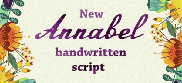 Annabel Script Typeface
