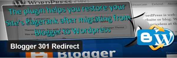 Blogger 301 Redirect
