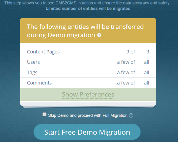 CMS2CMS Blogger to WordPress Converter what migrates