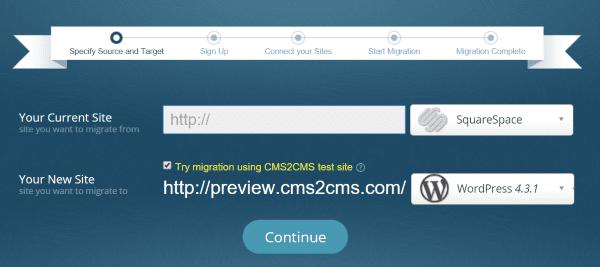 CMS2CMS Migration 2