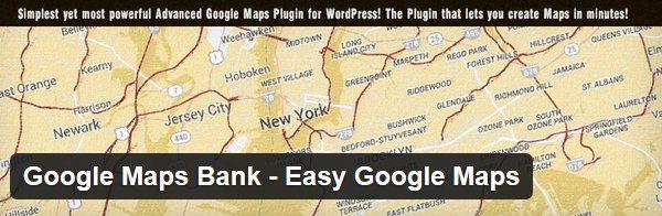 Google Maps Bank