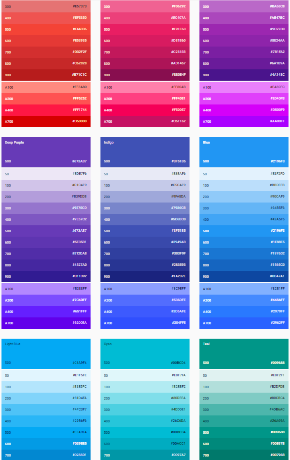 6 color matching techniques for wordpress web designers for What color matches with purple