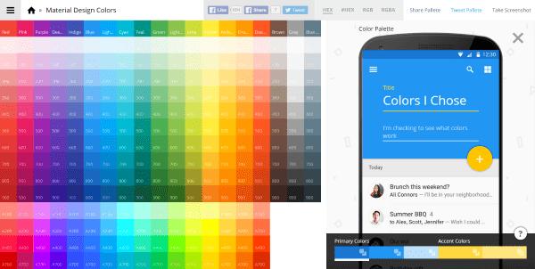 Material Design Colors 2