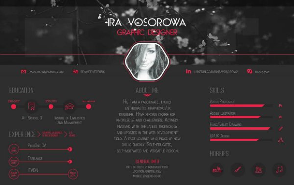 20+ Free Resume Design Templates for Web Designers | Elegant Themes ...