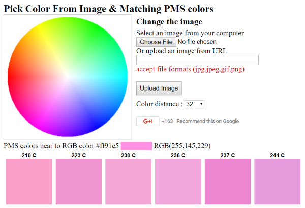 Pick Color from Image
