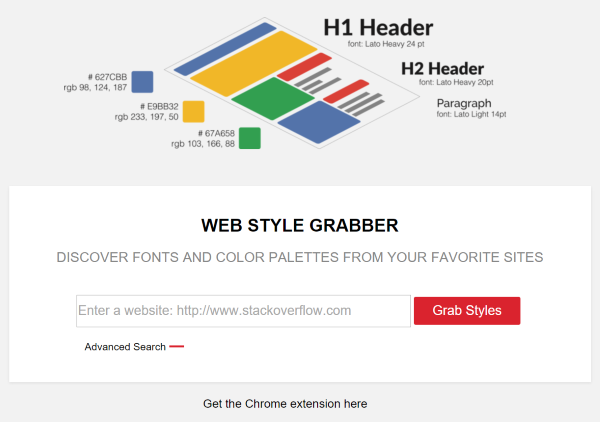 Web Style Grabber