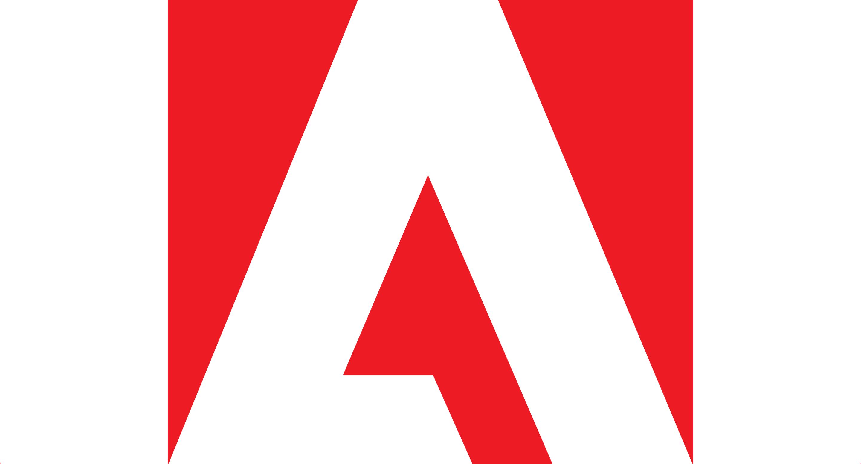 The Adobe logo recreated in SVG