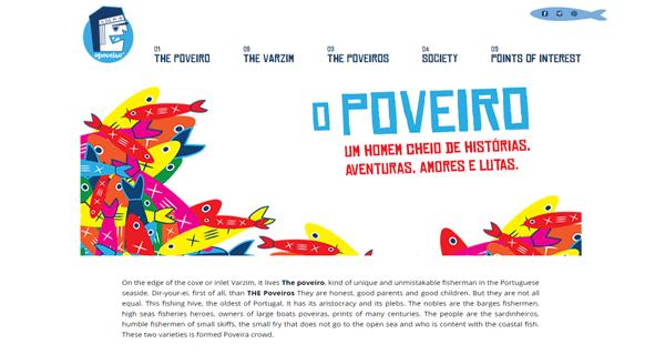 A screenshot from the Opoveiro website.