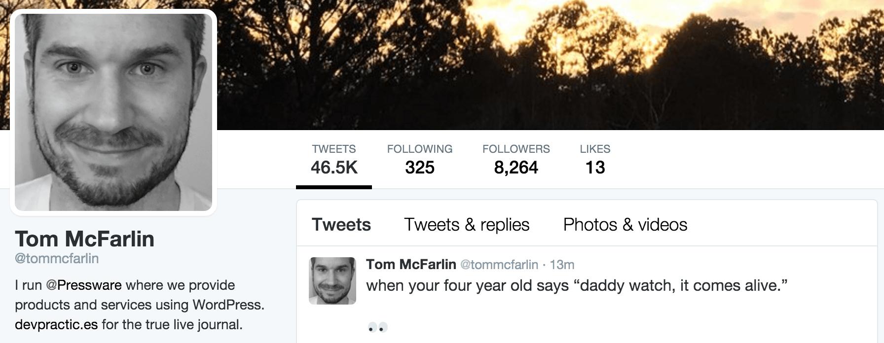 Tom McFarlin