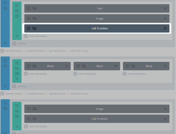 The Divi Split Test Feature layout