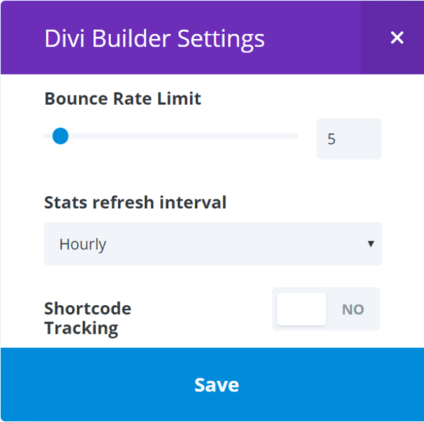 The Divi Split Test Feature rate limit