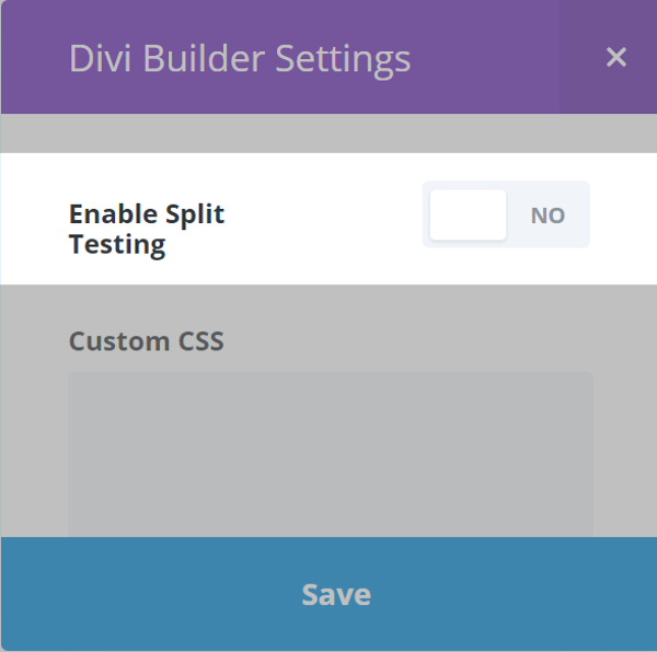 The Divi Split Test Feature