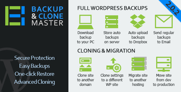 WordPress Backup and Clone Master