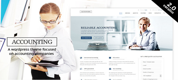 A screenshot of the official Accounting header.