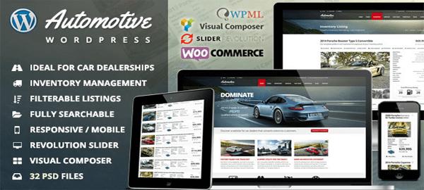 A screenshot of the official Automotive Card Dealership header.