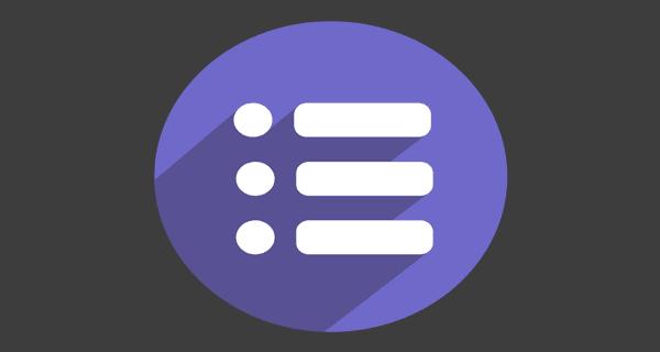 An icon exemplifying a mobile menu.
