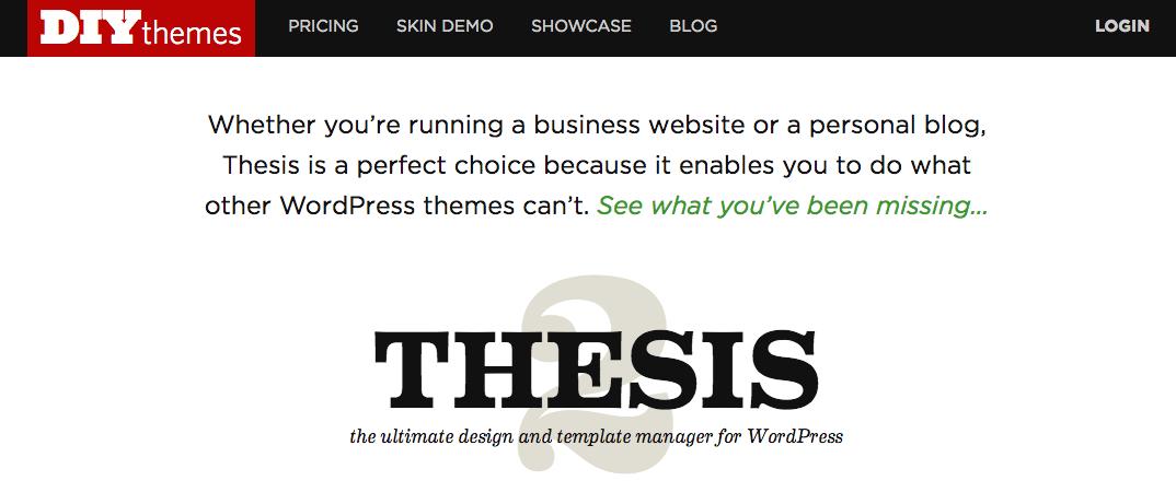 Diythemes thesis blog