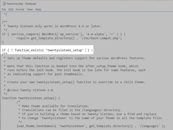 editing code