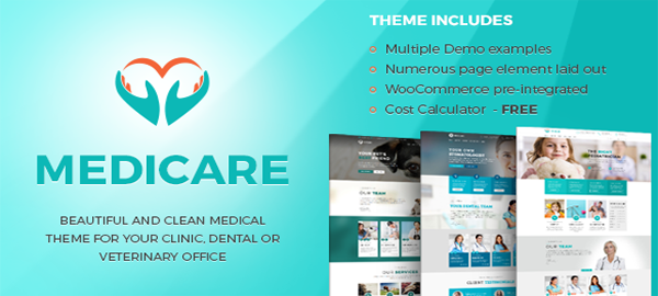A screenshot of the official Medicare header.