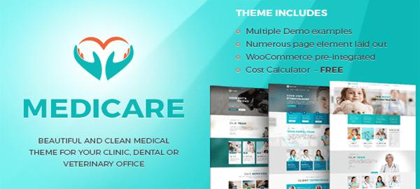 A screenshot of the official Medicare header.