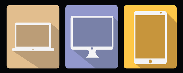 A multitude of different mobile devices.