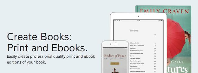 Pressbooks web app