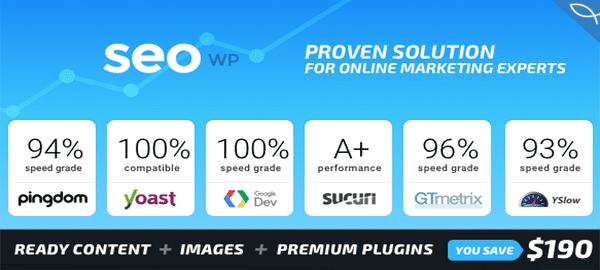 A screenshot of the official SEO WP header.