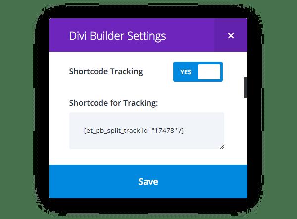 código corto-tracker