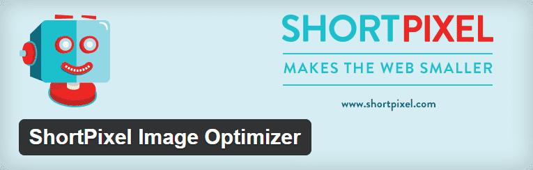 The official ShortPixel Image Optimizer header.