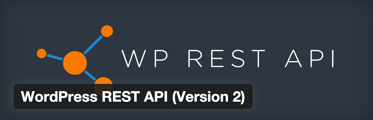 WordPress REST API plugin logo