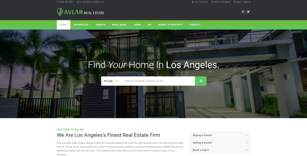 15 Best Real-Estate WordPress Themes for Realtors & Agencies in ...
