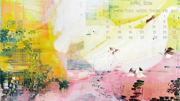 Calendar Theme Wallpaper : Desktop wallpaper calendars for web designers elegant