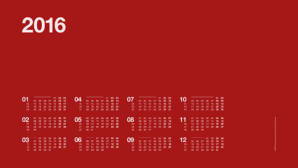 Three Year Calendar Planner : Desktop wallpaper calendars for web designers elegant