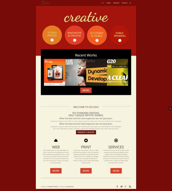 Divi Website