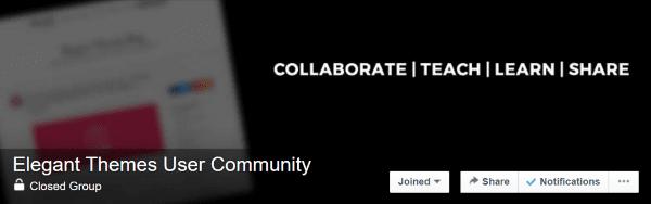 Elegant Themes User Community