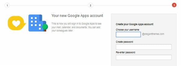 Google Apps for Work Step Three